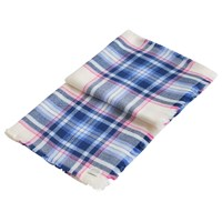 Joules Heyford Check Print Scarf Cream Multi