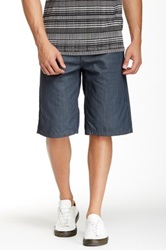 Antique Rivet Summer Coated Short Gray