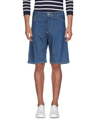 Low Brand Denim Bermudas Blue