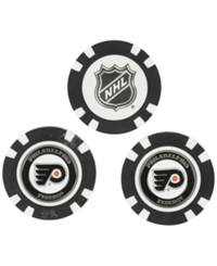 Team Golf Philadelphia Flyers 3 Pack Poker Chip Markers Orange
