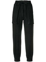 Andrea Ya'aqov Skinny Pocket Pants Black