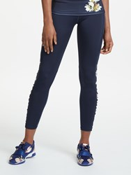 Ted Baker Fit To A T Isaace Harmony Ruched Long Leggings Navy