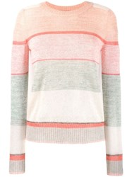 Missoni Striped Jumper Pink