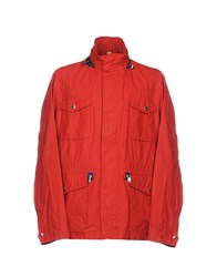 Henry Cotton's Jackets Red