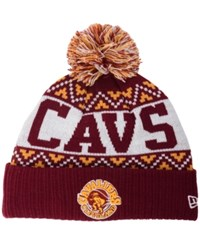 New Era Cleveland Cavaliers Biggest Christmas Knit Hat