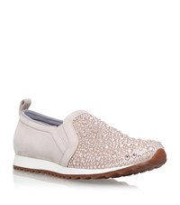 Gina Ennis Embellished Sneakers Female Nude