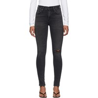 Citizens Of Humanity Black Rocket Mid Rise Skinny Jeans