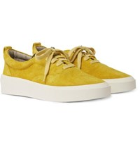 Fear Of God 101 Brushed Suede Sneakers Yellow