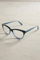 Anthropologie Gradient Reading Glasses Blue