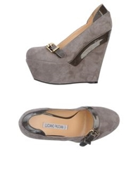 Luciano Padovan Pumps Dove Grey