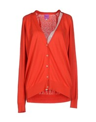 Paul By Paul Smith Knitwear Cardigans Women Rust