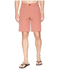 Hurley Phantom Hybrid Walkshorts Mars Stone Orange