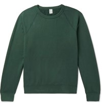 Save Khaki United Fleece Back Supima Cotton Jersey Sweatshirt Green