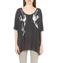 Allsaints Swooping Dream T Shirt Deep Black