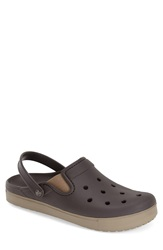 Crocs 'Citilane' Clog Men Espresso Khaki