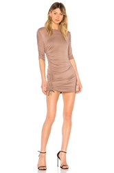Riller And Fount Felicia Dress Brown