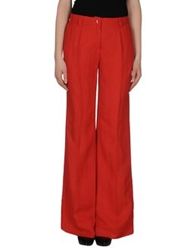 Caractere Aria Casual Pants Red