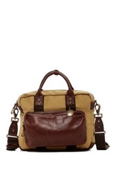 Will Leather Goods Lewis Briefcase Brown