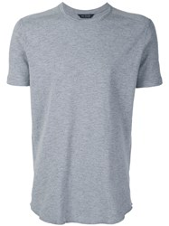 Wings Horns Classic T Shirt Grey