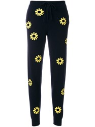 Chinti And Parker Moomin Flower Track Pants Blue