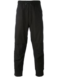 Mhi Maharishi Drawstring Trousers Men Cotton Xl Black