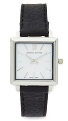 Larsson And Jennings Norse Watch Silver White Black