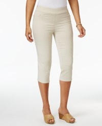 Jm Collection Pull On Capri Pants Only At Macy's Stonewall