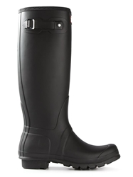Hunter 'Wellington' Rain Boots Black