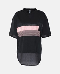 Stella Mccartney Black Black Logo Tshirt