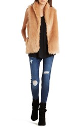 Women's Bcbgeneration Faux Fur Vest