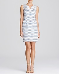 Nydj Tiffany Jacquard Dress Midnight Sky