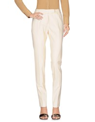 Paul Smith Blue Casual Pants Ivory