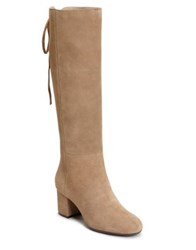 Aerosoles Stock Market Suede Tall Boots Taupe