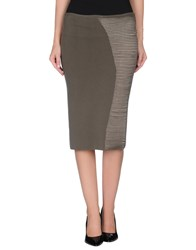 Gentryportofino Skirts Knee Length Skirts Women Lead