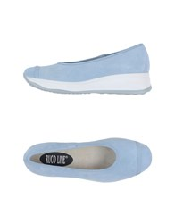 Ruco Line Footwear Courts Women Bright Blue