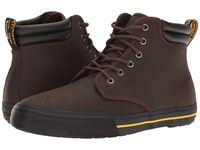 Dr. Martens Eason Dark Brown Greasy Lamper Vulc Mohawk Synthetic Men's Boots