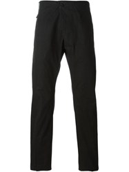 Lost And Found Slim Fit Trousers Black