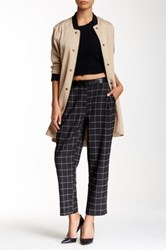 Modern Vintage High Waisted Cropped Pant Black