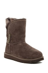 Ugg Meadow Genuine Shearling Convertible Cuff Boot Brown