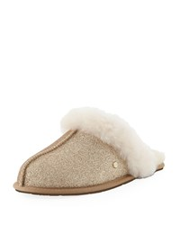 Ugg Scuffette Ii Sparkle Slippers Gold
