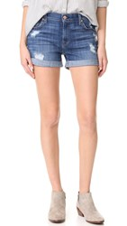 7 For All Mankind Roll Shorts Barri