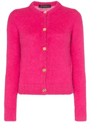 Versace Knitted Cardigan Pink