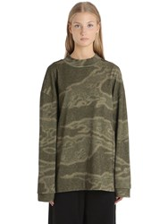 Yeezy Moto Heavy Cotton Jersey Sweatshirt