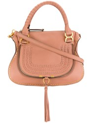 Chloe Marcie Tote Bag Nude And Neutrals