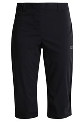 Jack Wolfskin Activate Light 3 4 Sports Trousers Black