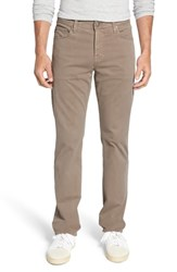 Ag Jeans Everett Sud Slim Straight Fit Pants Mushroom