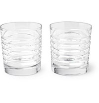 Ralph Lauren Home Metropolis Set Of Two Whisky Glasses Clear