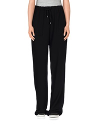 Stefanel Casual Pants Black