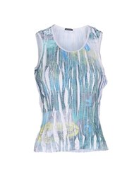 Caractere Aria Tank Tops Light Green