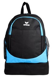 Erima Rucksack Curacao Black Light Blue